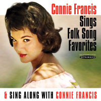CONNIE FRANCIS SINGS FOLK SONG FAVORITES / SING ALONG WITH  (SEPIA 1199)