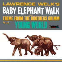 BABY ELEPHANT WALK / YOUNG WORLD - LAWRENCE WELK (SEPIA 1207)