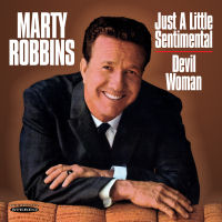 MARTY ROBBINS - JUST A LITTLE SENTIMENTAL / DEVIL WOMAN (SEPIA 1228)