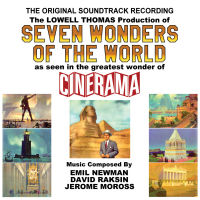 SEVEN WONDERS OF THE WORLD SOUNDTRACK (SEPIA 1259)