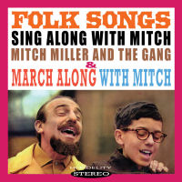 MITCH MILLER - SING ALONG WITH MITCH: FOLK SONGS / MARCH ALONG (SEPIA 1339)